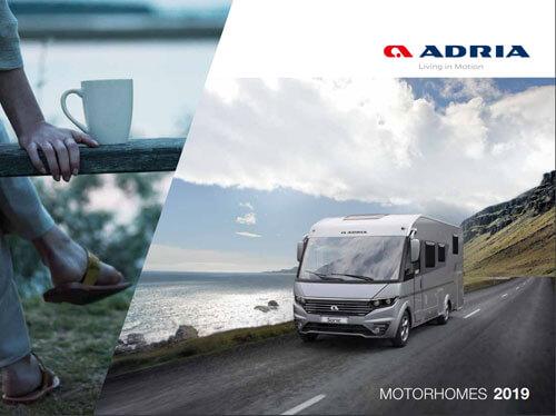 Adria Motorhome Brochure 2019
