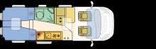 Twin 640 Sl 220x70